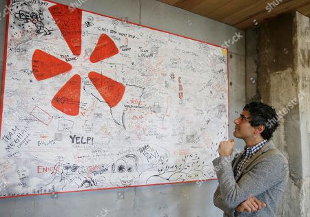 Editorial photo of Yelp CEO Q and A, San Francisco, USA
