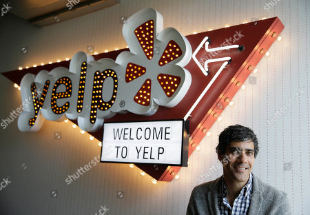 Stock Picture of Jeremy Stoppelman Yelp CEO Jeremy Stoppelman poses at his company's headquarters in San Francisco. Stoppelman, 36, probably wouldn't be running Yelp Inc. if he had paid more attention to the opinions of outsiders than his own insights