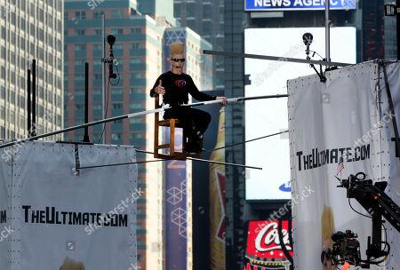 Editorial photo of Bello Nock, New York, USA
