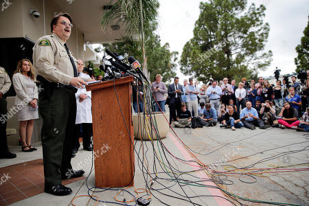 Bill Brown Santa Barbara County Sheriff Bill Brown, left, speaks during a news conference, in Santa Barbara, Calif. Sheriff's officials say Elliot Rodger, 22, went on a rampage near the University of California, Santa Barbara, stabbing three people to death at his apartment before shooting and killing three more in a crime spree through a nearby neighborhood