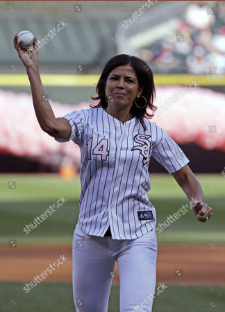 Zoraida Sambolin NBC 5 News co-anchor & breast cancer survivor Zoraida Sambolin throws out a ceremonial first pitch before an interleague baseball game between the Chicago White Sox and the Arizona Diamondbacks in Chicago