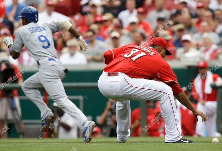 Editorial photo of Dodgers Reds Baseball, Cincinnati, USA