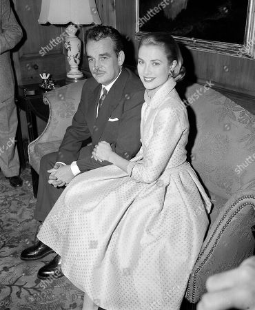 Prince Rainier, Grace Kelly Actress Grace Kelly and Prince Rainier III of Monaco, sit arm-in-arm as they meet the press in Philadelphia, Pa, USA. Grace Kelly can bring to mind several things: an Oscar-winning Hollywood actress, a mother, a princess and a Nicole Kidman movie premiering at the Cannes Film Festival on