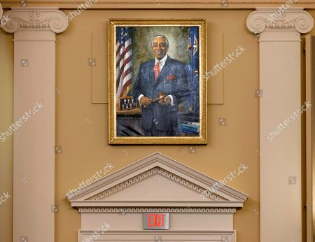 Charlie Rangel The official portrait of Rep. Charlie Rangel, D-N.Y. is seen in the House Ways and Means Committee room on Capitol Hill in Washington, . Running for his 23rd term, Rangel faces a formidable opponent in Tuesday's New York Democratic primary for the 13th Congressional District against state Sen. Adriano Espaillat