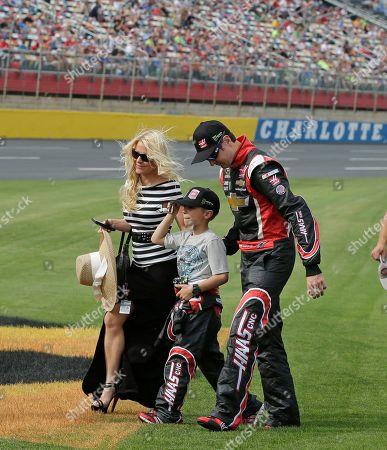 Editorial image of NASCAR Charlotte Auto Racing, Concord, USA