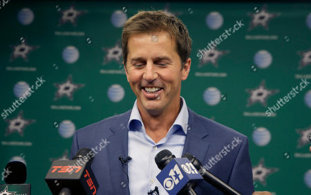 Mike Modano Former Dallas Stars Mike Modano smiles as he answers reporters questions during a media availability, in Dallas. Modano, Dominik Hasek, Peter Forsberg and Rob Blake are headed into the Hockey Hall of Fame