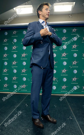 Mike Modano Former Dallas Stars Mike Modano arrives to answer reporters questions during a media availability, in Dallas. Modano, Dominik Hasek, Peter Forsberg and Rob Blake are headed into the Hockey Hall of Fame