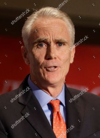 Stock Image of John Cahill John Cahill, the Republican nominee for Attorney General, speaks during the New York State Republican Convention in Rye Brook, N.Y