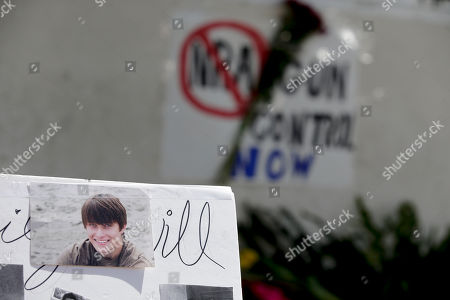 Christopher Martinez Images of Chrisotper Ross Michael-Martinez are displayed as part of a makeshift memorial in front of the IV Deli Mart, where part of Friday night's mass shooting took place by a drive-by shooter, in the Isla Vista area near Goleta, Calif. Sheriff's officials said Elliot Rodger, 22, went on a rampage near the University of California, Santa Barbara, stabbing three people to death at his apartment before shooting and killing three more in a crime spree through a nearby neighborhood