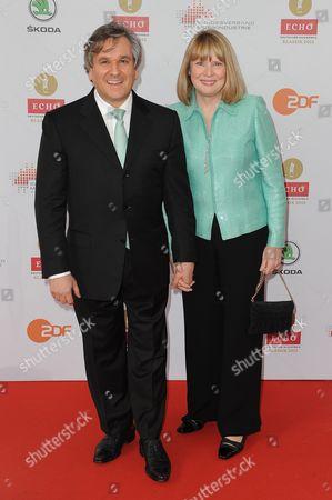 Antonio Pappano and wife Pamela