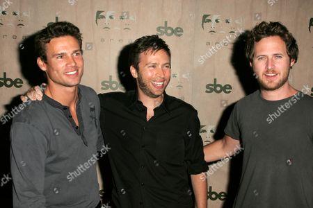 Ethan Erickson with Jonathan Segal and AJ Buckley