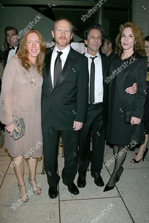 Cheryl Alley Howard, Ron Howard, Brian Grazer and Gigi Levangie