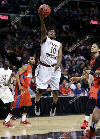 Langston Galloway Saint Joseph's Langston Galloway puts up a shot during the first half of an NCAA college basketball game against Dayton in the quarterfinal round of the Atlantic 10 Conference tournament at the Barclays Center in New York
