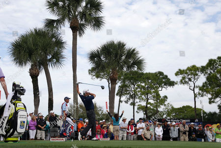 Graham McDowell Graham McDowell of Northern Ireland tees off on the 18th hole during the second round of the Honda Classic golf tournament, in Palm Beach Gardens, Fla