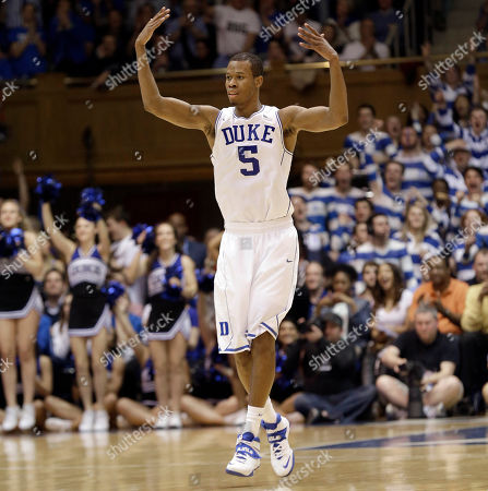 Rodney Hood Duke's Rodney Hood reacts following a basket against North Carolina during the second half of an NCAA college basketball game in Durham, N.C., . Duke won 93-81