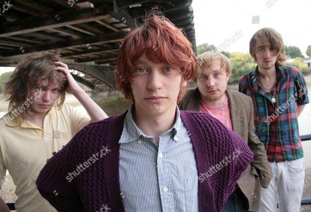 Stock Photo of Larrikin Love - Micko Larkin, Edward Larrikin, Alfie Ambrose and Coz Kerrigan