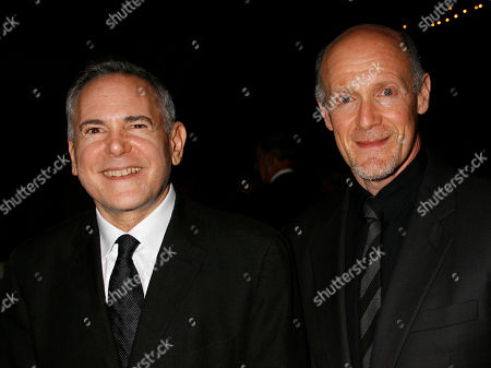 """Santa Barbara Film Festival Craig Zadan Neil Meron Craig Zadan, left, and Neil Meron, producers of the film """"Hairspray"""" at the Santa Barbara International Film Festival's in Santa Barbara, Calif. Meron, who is producing the Oscar show for the second time with partner Craig Zadan, hopes a careful blend of secrecy and teasing, topped with some of the tightest races in recent Oscar memory, makes the 86th Academy Awards a lure for viewers far and wide. The Oscars will be held on"""