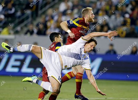 Editorial image of Real Salt Lake Galaxy Soccer, Carson, USA