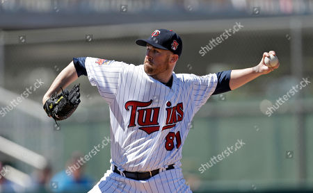 Editorial photo of Red Sox Twins Spring Baseball, Fort Myers, USA