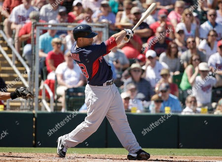 Daniel Nava Boston Red Sox's Daniel Nava follows through with his swing on a home run hit off a pitch by Minnesota Twins' Scott Diamond in the first inning of an exhibition baseball game, in Fort Myers, Fla