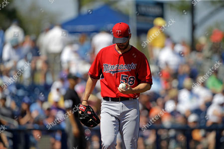 Editorial picture of Twins Rays Spring Baseball, Port Charlotte, USA
