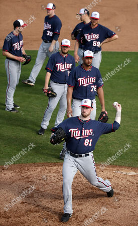 Editorial picture of Twins Spring Baseball, Fort Myers, USA