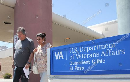 Stock Picture of David and Marianne Trujillo exit the Vetaran Affairs facility in El Paso, Texas. Some Veterans Affairs facilities in Texas have among the longest wait-times in the nation for those trying to see a doctor for the first time, according to federal data. It's not just veterans who sometimes have to wait for health care. Depending on where you live and what kind of care you want, in parts of the country it's not always easy for new patients to get a quick appointment