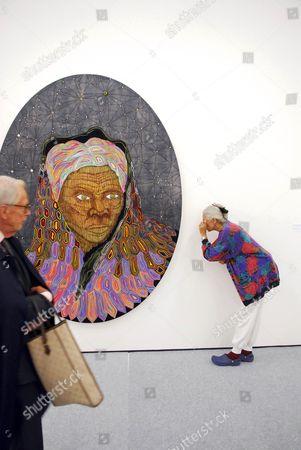 Matthew Day Jackson - 'Harriet (Last Portrait)' - 2006