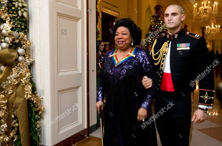 Martina Arroyo Recipient of the 2013 Kennedy Center Honors, opera singer Martina Arroyo, left, arrives for a reception honoring the 2013 Kennedy Center Honors honorees, in the East Room of the White House in Washington
