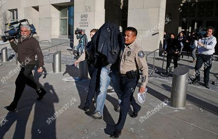 Editorial photo of Aron Ralston Arrest, Denver, USA