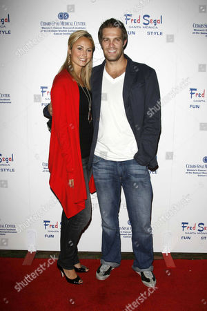 Stacy Keibler and George Stults
