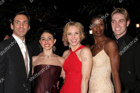 Stock Picture of Michael Berresse, Natalie Cortez, Charlotte d'Amboise, Deidre Goodwin, Tyler Hanes