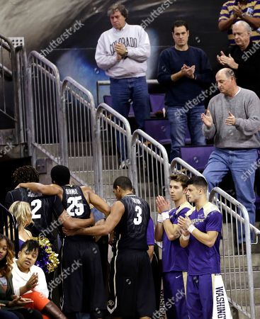 Editorial picture of Colorado Washington Basketball, Seattle, USA