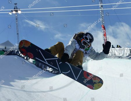 Editorial photo of Dew Tour Superpipe Snowboarding, Breckenridge, USA