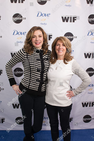 "Director Cynthia Wade, left, and producer Sharon Liese at the premiere of ""Selfie,"" a documentary short film made in partnership with Dove and Sundance Institute, on the 10th Anniversary of the 'Campaign for Real Beauty', in Park City, Utah"
