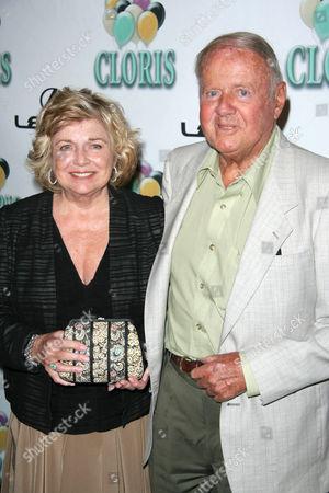Jayne Meadows and Dick van Patten