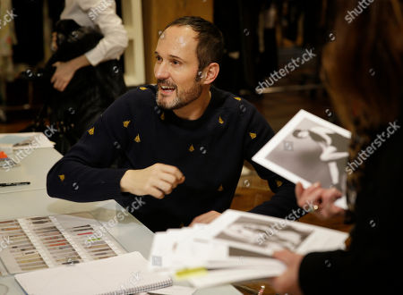 Josep Font Josep Font, creative director of DelPozo, works with his team during a model casting in New York