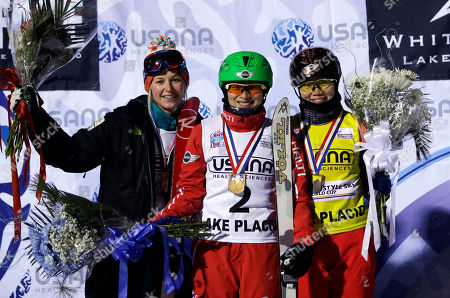 Editorial photo of Freestyle World Cup Aerials Skiing, Lake Placid, USA