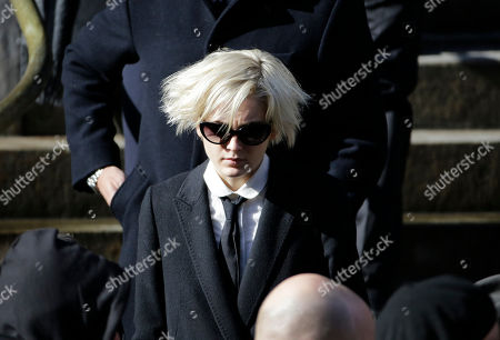 Editorial photo of Hoffman Funeral, New York, USA