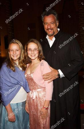 John de Lancie and daughters