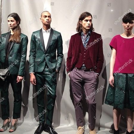 Trina Turk and Mr. Turk show during New York Fashion Week