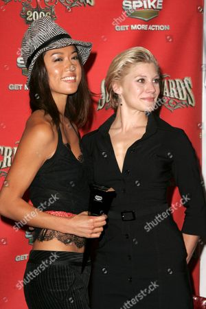 Grace Park and Katee Sackoff