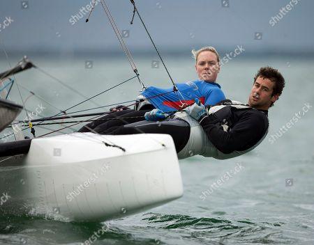 Editorial image of Miami Word Cup Sailing, Miami, USA