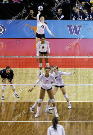 Editorial picture of NCAA Washington Penn St Volleyball, Seattle, USA