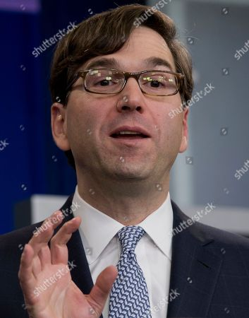 Jason Furman Chairman of the Council of Economic Advisers Jason Furman speaks during the daily news briefing at the White House, in Washington, about the Congressional Budget Office (CBO) report and the Affordable Care Act. The federal deficit is likely to continue its slide to a lower-than-expected $514 billion for 2014, the nonpartisan CBO reported Tuesday, Feb. 4, 2014