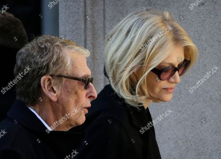 """Philip Seymour Hoffman, Mike Nichols, Diane Sawyer Director Mike Nichols, left, and Diane Sawyer arrive for the funeral of actor Philip Seymour Hoffman at the Church of St. Ignatius Loyola in New York. Nichols, the director of matchless versatility who brought fierce wit, caustic social commentary and wicked absurdity to such film, TV and stage hits as """"The Graduate,"""" ''Angels in America"""" and """"Monty Python's Spamalot,"""" died . He was 83"""