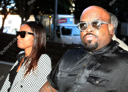 """Stock Picture of Cee Lo Green Thomas DeCarlo Callaway Thomas DeCarlo Callaway, right, known as Cee Lo Green arrives at the Los Angeles Superior Court, in Los Angeles. A court hearing is set for March 5 for Green, a singer and coach on """"The Voice,"""" who is accused of giving ecstasy to a female during dinner at a Los Angeles restaurant"""
