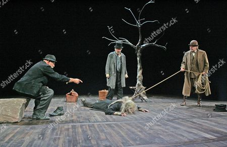 Editorial picture of 'Waiting For Godot' play at the Theatre Royal, Bath, Britain - Aug 2006