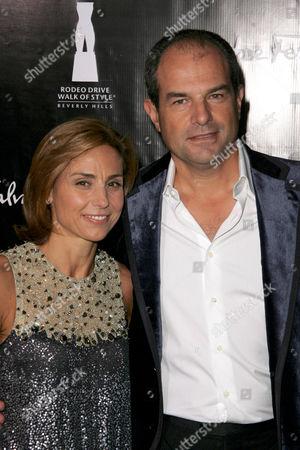 Massimo Ferragamo and wife