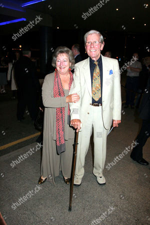 Stock Photo of Bob Holness and wife Dolly